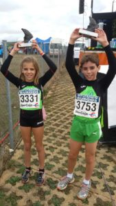 La atleta isleña Cristina Jiménez sube al podio en Atapuerca