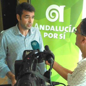 """Joaquín Bellido: """"Ningún partido tiene el funcionamiento participativo, democrático y transparente de Andalucía por Sí"""""""