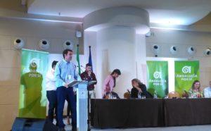 """Joaquín Bellido: """"El empleo y las políticas sociales son la médula de la acción de AxSí"""""""