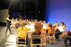 El Conservatorio de Música de Isla Cristina en el 25 Aniversario del Manuel Rojas de Nerva