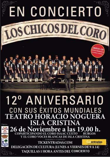 Programación Cultura de Isla Cristina para el mes de Noviembre