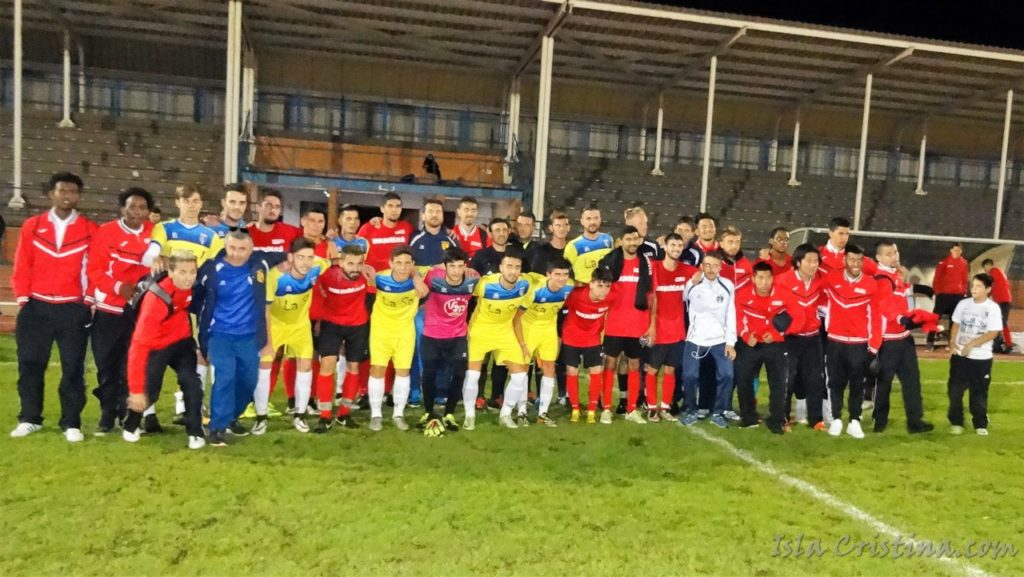 El Isla Cristina gana el amistoso internacional que les enfrento al PSC Soccer Academy