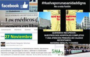 Huelva, por una sanidad digna espera que la manifestación del 27-n sea un éxito y signifique un cambio en la gestión