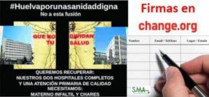 Convocada una manifestación en Huelva 'por una Sanidad Digna' para el día 27 de noviembre