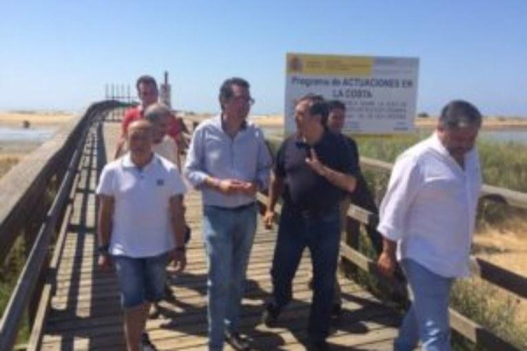 El PP afirma que el Gobierno cumple su palabra y licita las obras de reparación definitiva del Puende la Gola de Isla Cristina