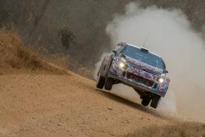 Citroën realiza pruebas en caminos rurales de la provincia con vistas al próximo Mundial de Rallyes
