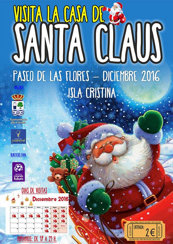 Visita la Casa de Santa Claus en Isla Cristina