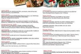 Programación de Navidad 2016 en Isla Cristina