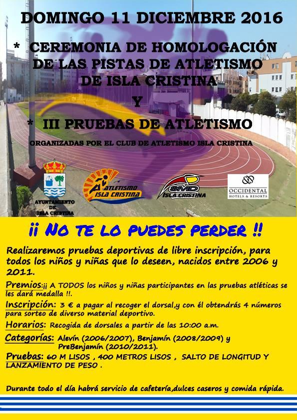III Encuentro de Atletismo en Isla Cristina