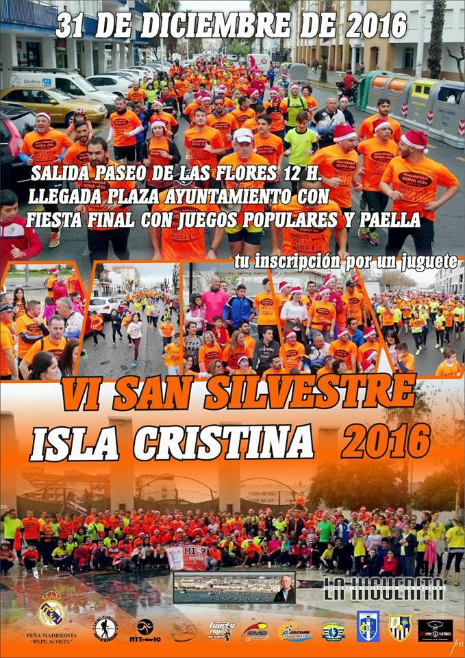 En Marcha la VI San Silvestre Isla Cristina 2016