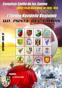 "Isla Cristina celebra este lunes el I Torneo Navideño Benjamín"" U.D. Punta del Caimán"