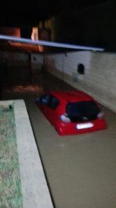 Vecinos de Aljaraque culpan a la alcaldesa del desbordamiento del arroyo de a Dehesa