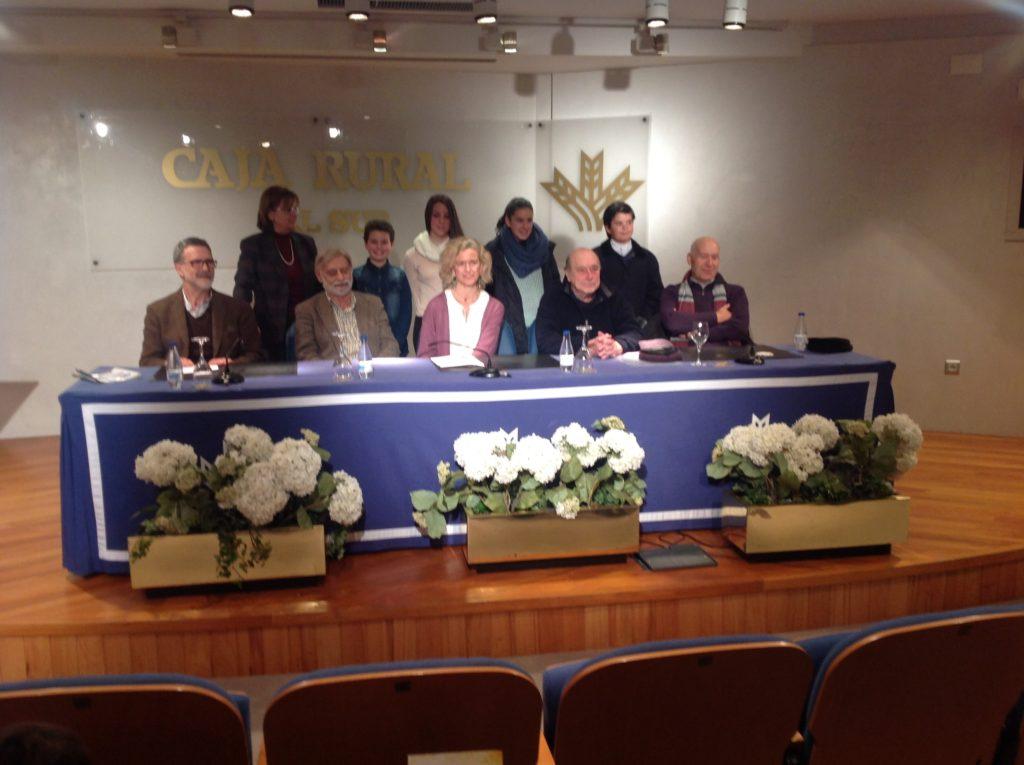 Entrega de los premios del XIII Concurso de Postales Navideñas de las Fundaciones Caja Rural del Sur y Flores Jimeno
