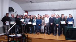 Con la entrega de diplomas Clausurado en Islantilla el Plan Agrupado de Formación Continua