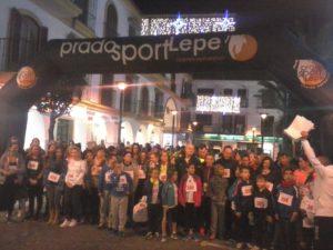 Alberto Muriel y Marta Corazón ganan la I Carrera Marcha Solidaria Santos Inocentes