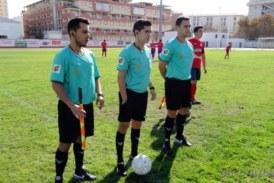Árbitros 1ª andaluza Sénior de Huelva para el fin de semana