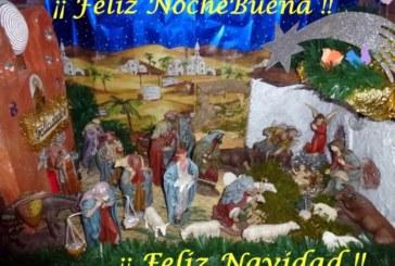 Feliz Noche Buena y Feliz Noche Vieja