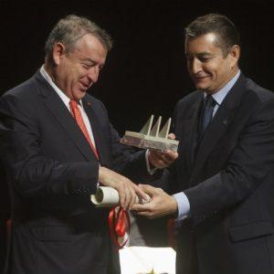 La RTVE, que preside el isleño José Antonio Sánchez, Premio Martín Alonso Pinzón a los Valores Constitucionales