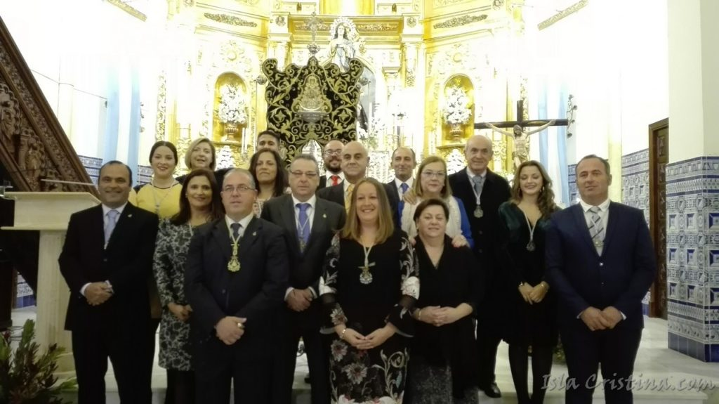 Toma de posesión de la nueva junta de gobierno de la Hermandad del Rocío de Isla Cristina