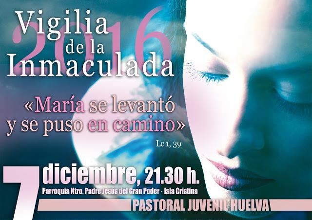Vigilia de la Inmaculada en Isla Cristina