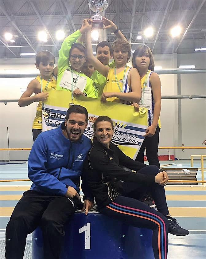 El Alevín Masculino del Club Atletismo Isla Cristina Campeón de Andalucía
