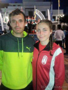Israel López y Miriam Gómez ganan la Carrera Fin de Año en Moguer