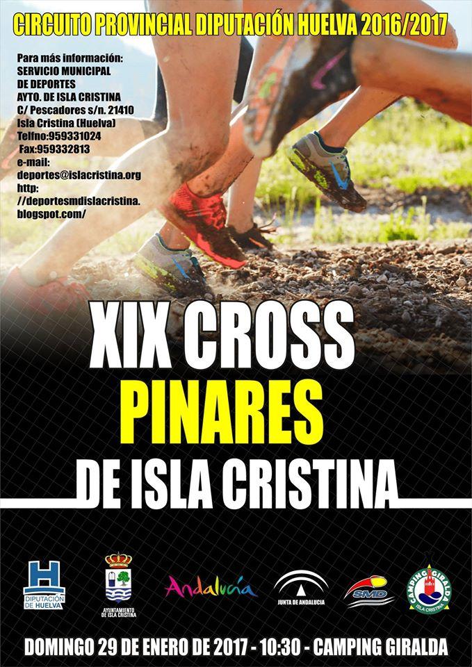 Este jueves finaliza Inscripción del XIX Cross Pinares de Isla Cristina