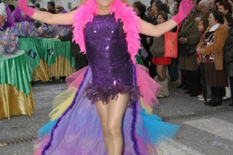 "Zaida Rubia. Premio Manuel Fragoso ""El Patitas"" Carnaval de Isla Cristina 2017"