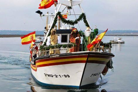 Itinerario de la Cabalgata de Reyes Magos de Isla Cristina 2017