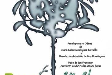 María Luisa y Mar Domínguez en la Poesía del Patio de Isla Cristina