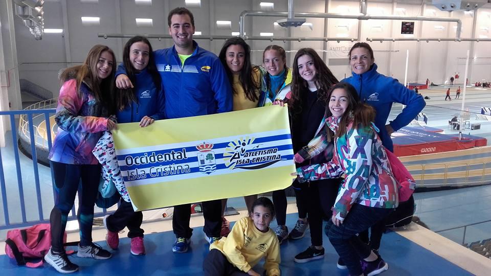 Exitosa participación del C.A. Isla Cristina en el Campeonato de Andalucía Sub 23