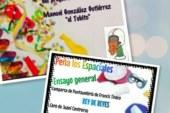 Ensayo general y presentación del pregonero del Carnaval en la peña Los Espaciales de Isla Cristina