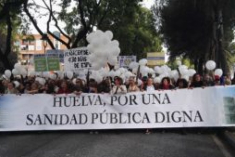Huelvaporunasanidaddigna Contestación a declaraciones sobre manifestacion 15 e