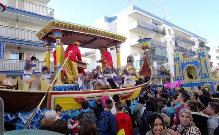 Cabalgata de Reyes Magos Isla Cristina 2017