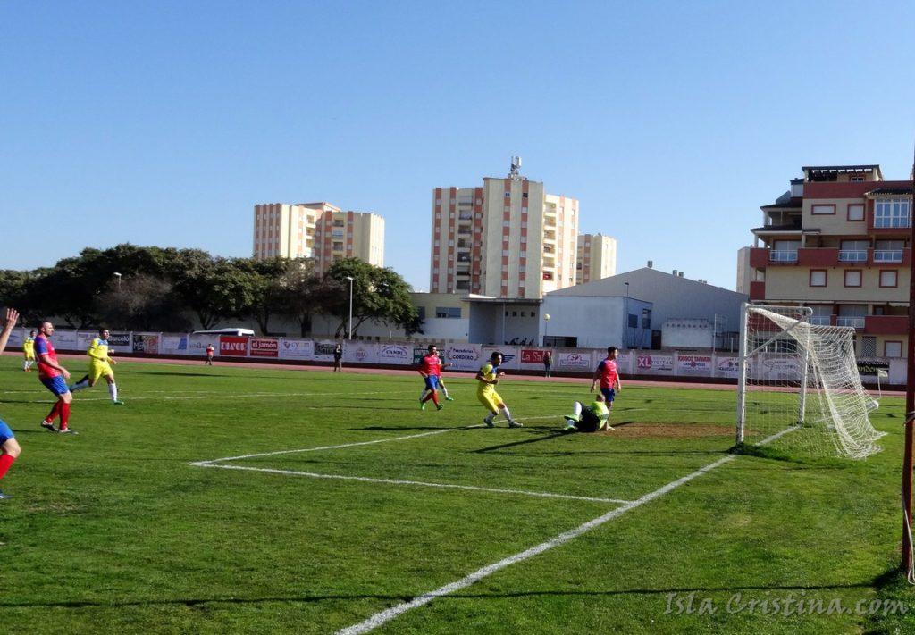 El Isla Cristina se lleva el partido de la jornada en Iª andaluza ante el Cerreño