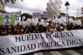 La Sanidad Pública en la Sierra de Huelva dejada de la Mano de Dios