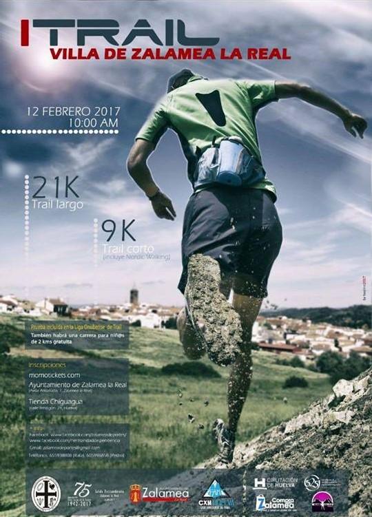 Zalamea abre este domingo el calendario del Trail Onubense