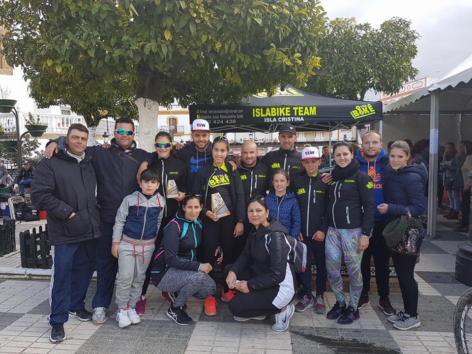 Destacada participación de Islabike Team en el Rally Villa de Paterna del Campo