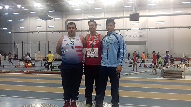 Plata para el atleta isleño Ricardo Orta de la Palma en el Campeonato de Andalucía juvenil