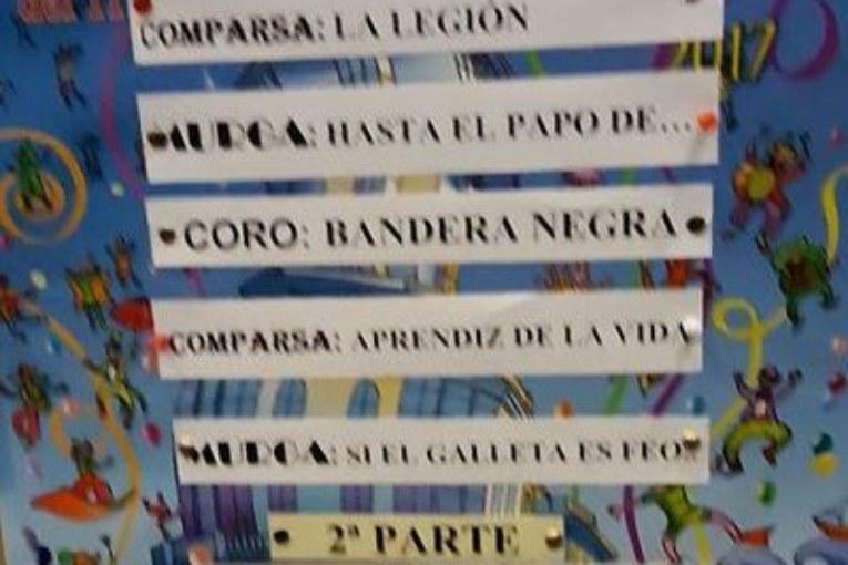Diez agrupaciones en la Gran Final del Concurso de Carnaval de Isla Cristina 2017