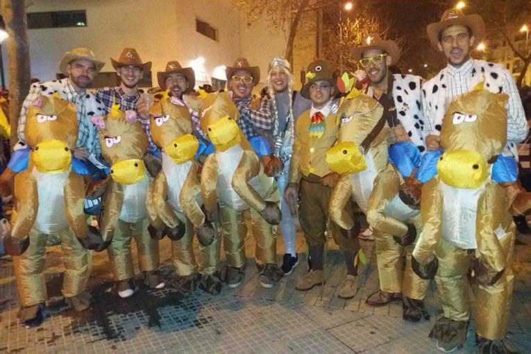 Programación Lunes de Carnaval Isla Cristina 2017