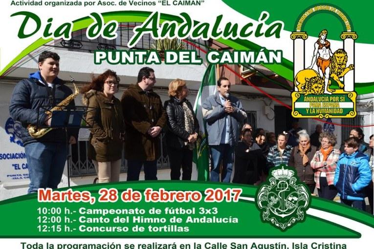 La Punta del Caimán de Isla Cristina celebra con una variada programación el Día de Andalucía