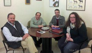 Andalucía Por Sí analiza con ASAJA la situación del campo onubense