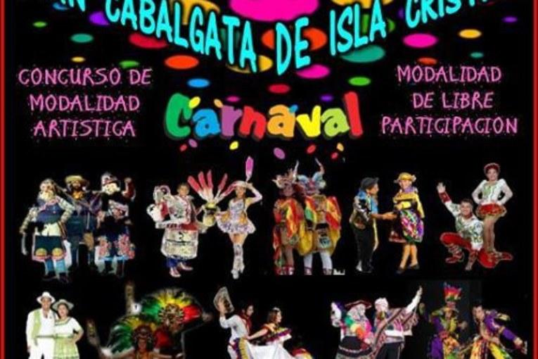 VII Carnaval Iberoamericano de Huelva presente en la cabalgata de Isla Cristina