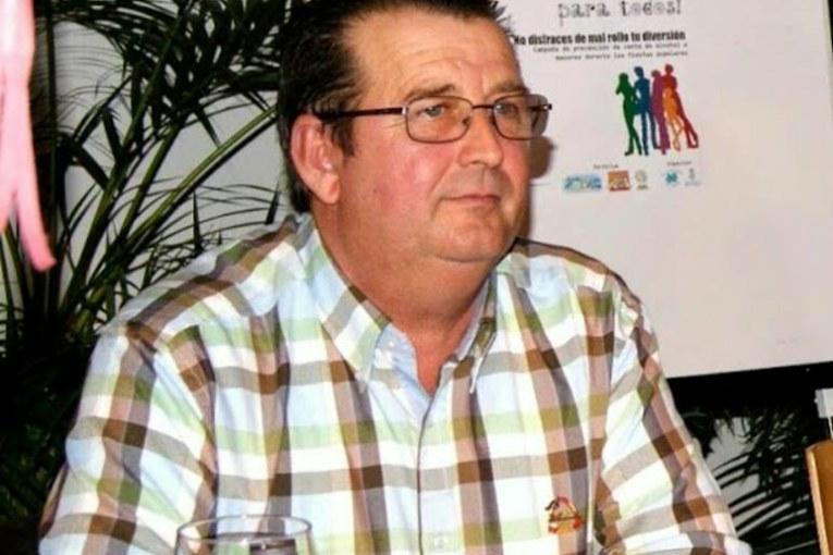 Antonio Martin Silva «El chache» Premio «Pepe Pérez» de la Peña Los Espaciales