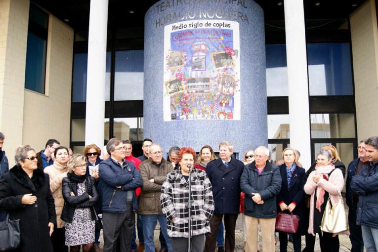 El ayuntamiento rinde Homenaje a las Leyendas del Carnaval que fueron pioneras de las fiestas isleñas