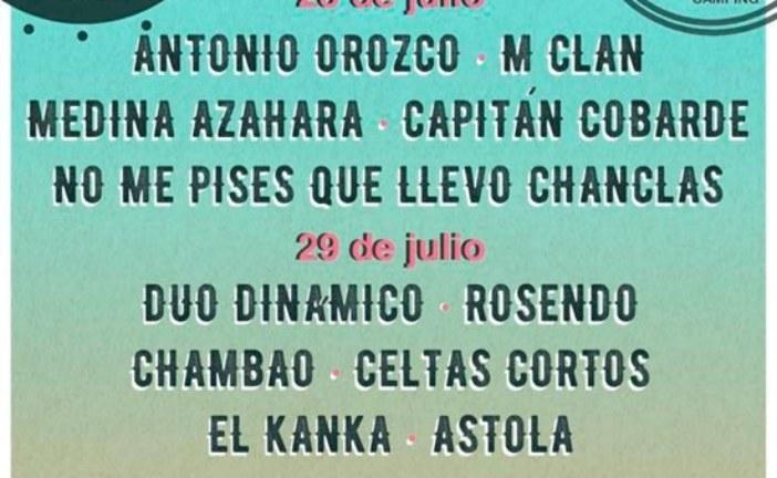 Cartel definitivo del Festival IslaGo 2017 de Isla Cristina
