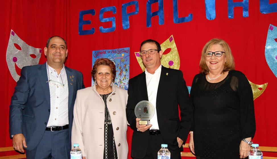 Entregados en Isla Cristina los Premio Manolo Cabot y Espacial de Oro