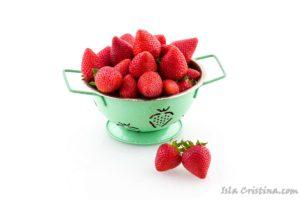 Bébete la fresa