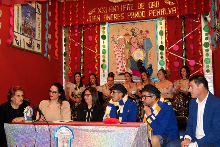 Entregados los Premios del Carnaval 2017 y el Galardón Juan Andrés Pardo Penalva